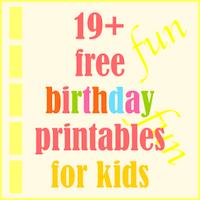 Imprimibles gratis