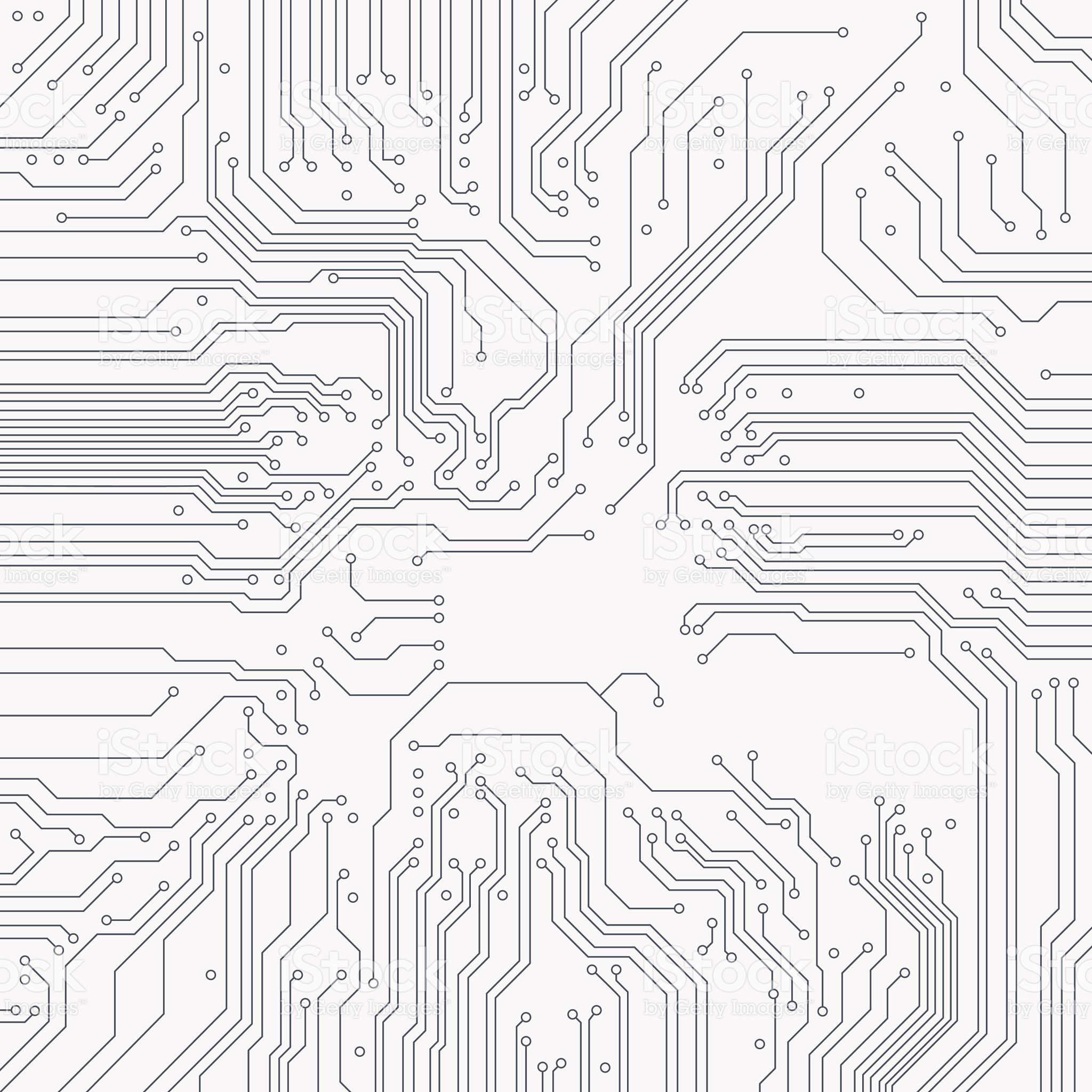 Circuit Board Background Vector Electronic Background
