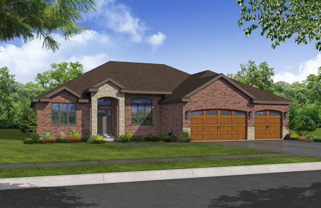 Madison: Featuring Luxury Ranch Style Homes For Sale, Sublime Homesu0027 Newest  House Plan Boasts The Latest In Home Design With A Spacious Living Space,  ...