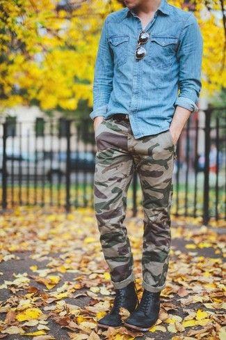 Cómo combinar unos pantalones de camuflaje en 2017 (43 formas ... fc1af11d7a8