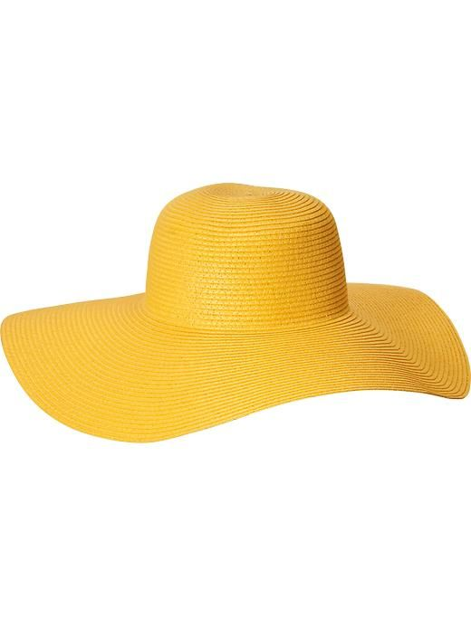 Women Floppy Straw Sun Hats on sale at Old Navy for  16  cc6a6d8dd51a