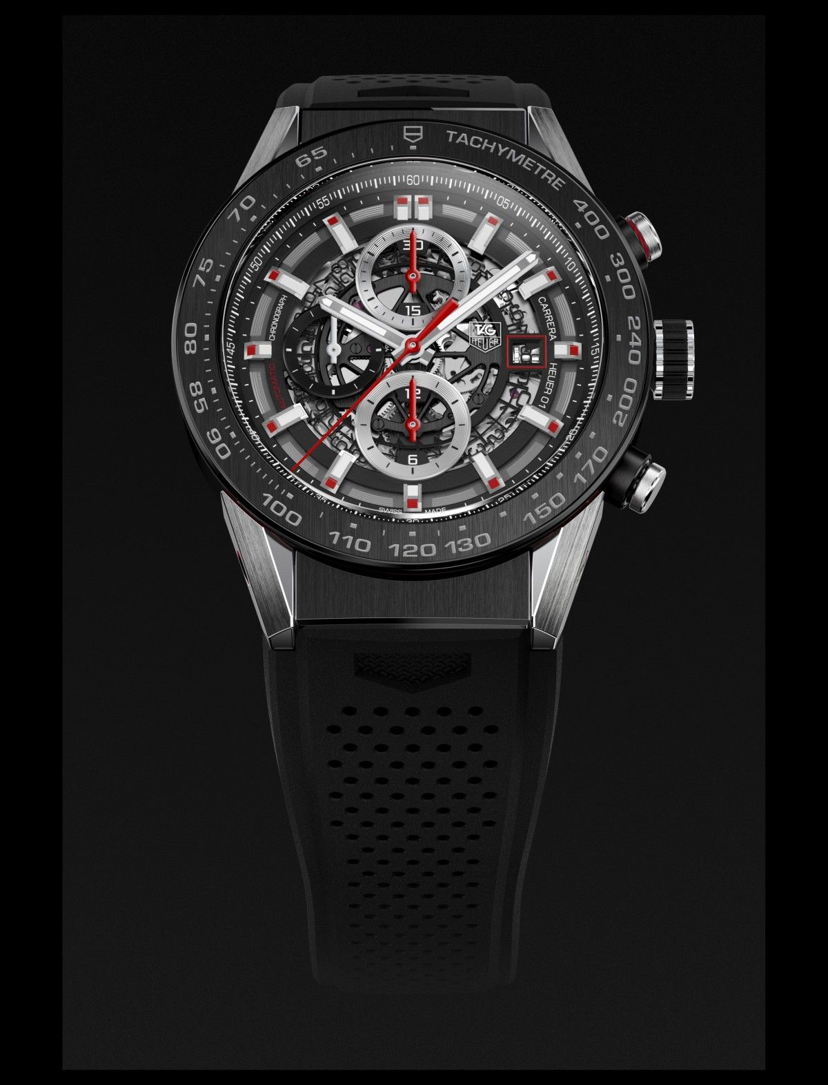 010d64c71b9 The TAG Heuer Carrera Heuer 01 was introduced at Baselworld 2015.