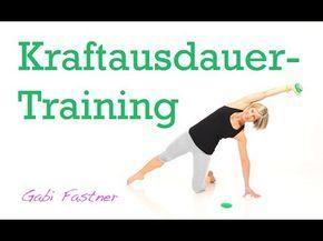 schnell zur Sommerfigur mit Kraftausdauertraining - YouTube #fitnessvideos