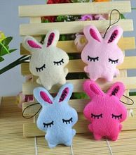 1 PC coelho bonito do bebê de pelúcia macia crianças brinquedos do bebê dos desenhos animados coelho abrace coração Bowkot bichos de pelúcia brinquedos de presente(China (Mainland))