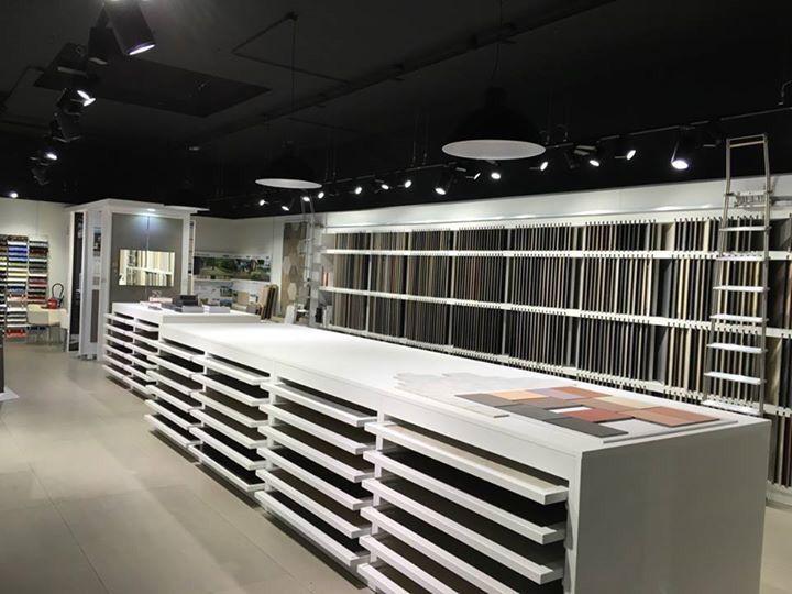 Showroom de Vendenheim Carrelages,carreaux de ciment, mosaïque - meuble salle de bain pierre naturelle