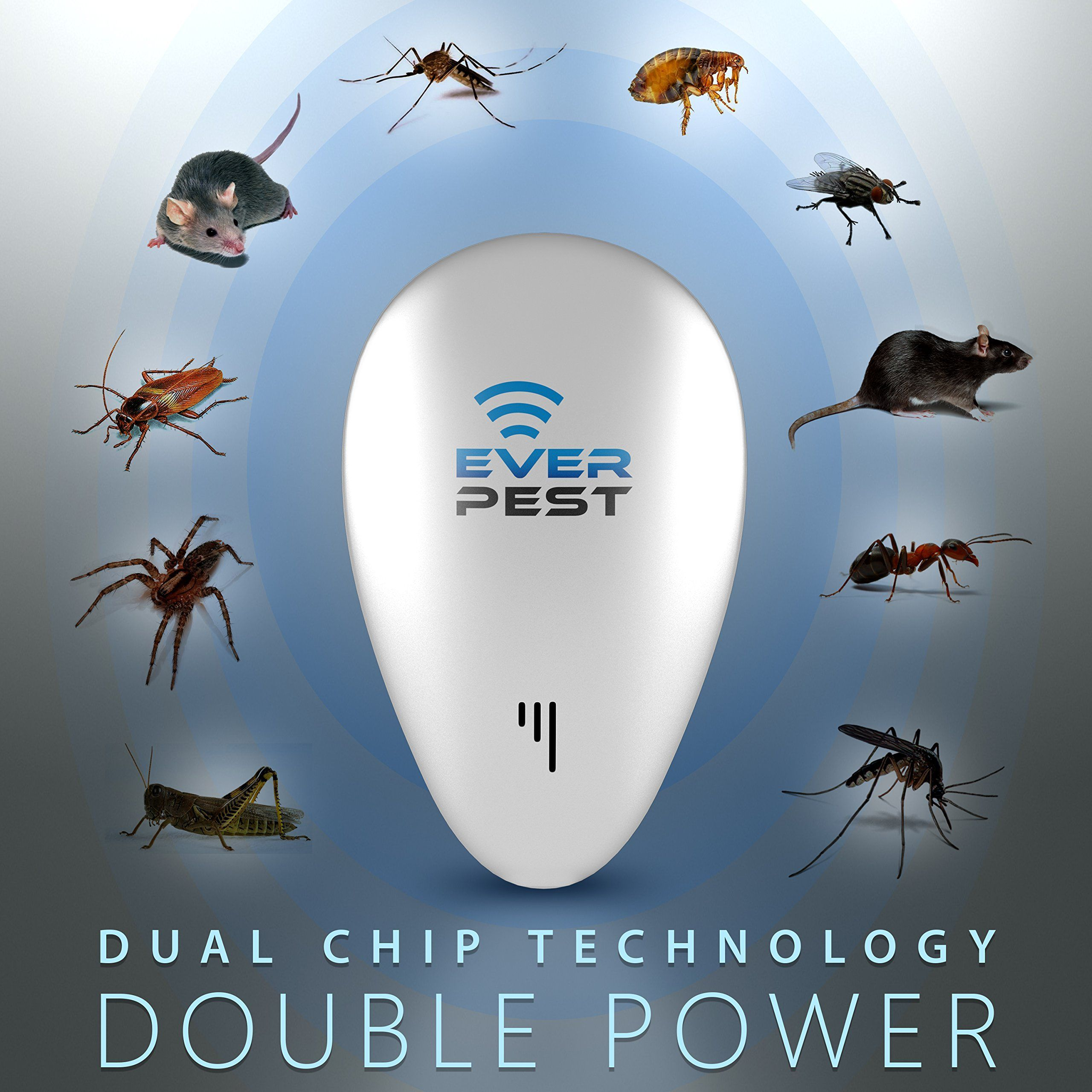 Ultrasonic Pest Mosquito Repellent Plug Control by EverPest ...