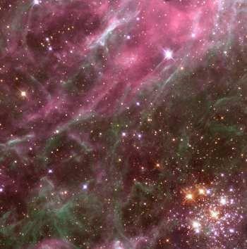 Tarantula Nebula by Hubble