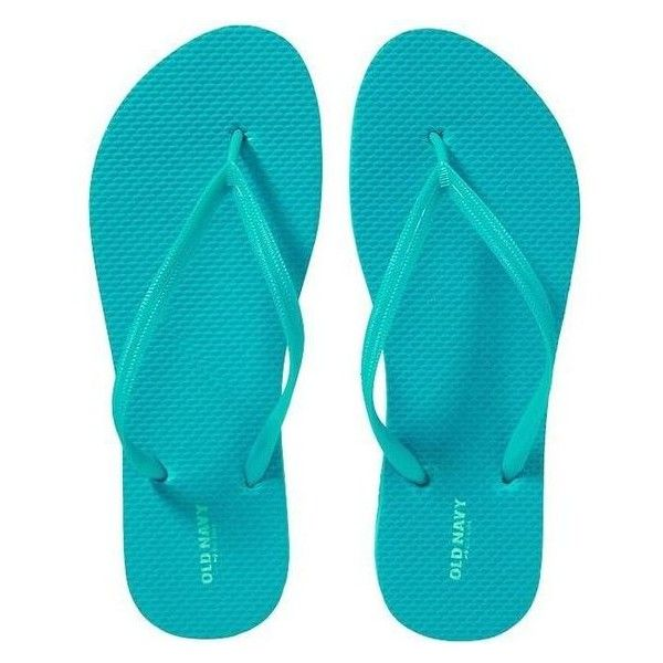 de253fa1967c Old Navy Womens Classic Flip Flops ❤ liked on Polyvore featuring shoes