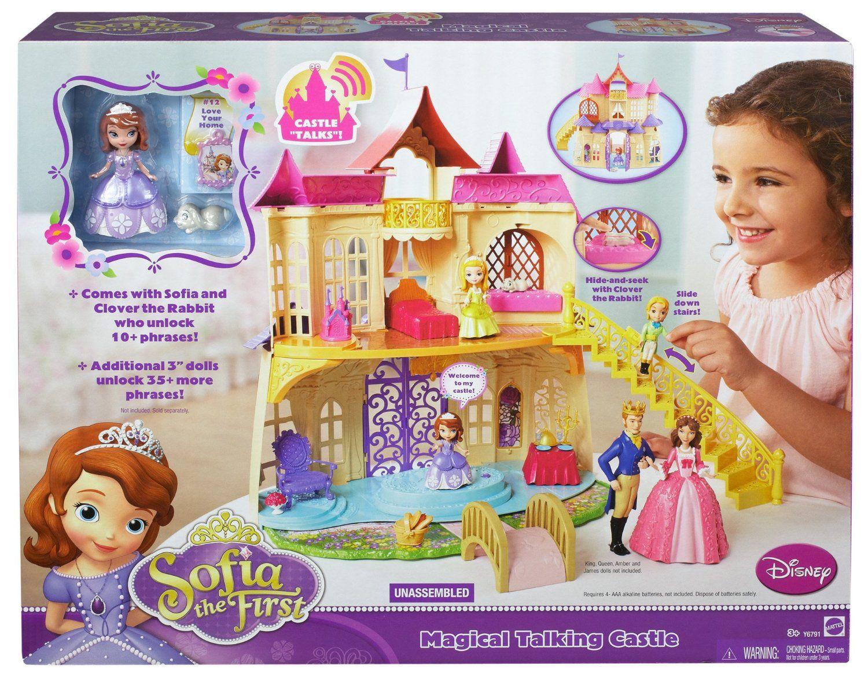 Amazon Com Disney Sofia The First New Magical Talking Castle