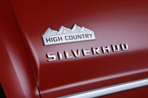 2014 Chevy Silverado High Country Features A Luxury Oriented