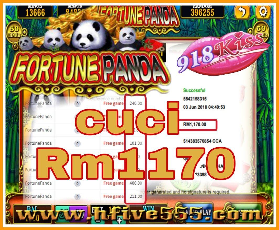 918kiss💋 Fortune Panda 🐼 🐼 Free game menang juga[色