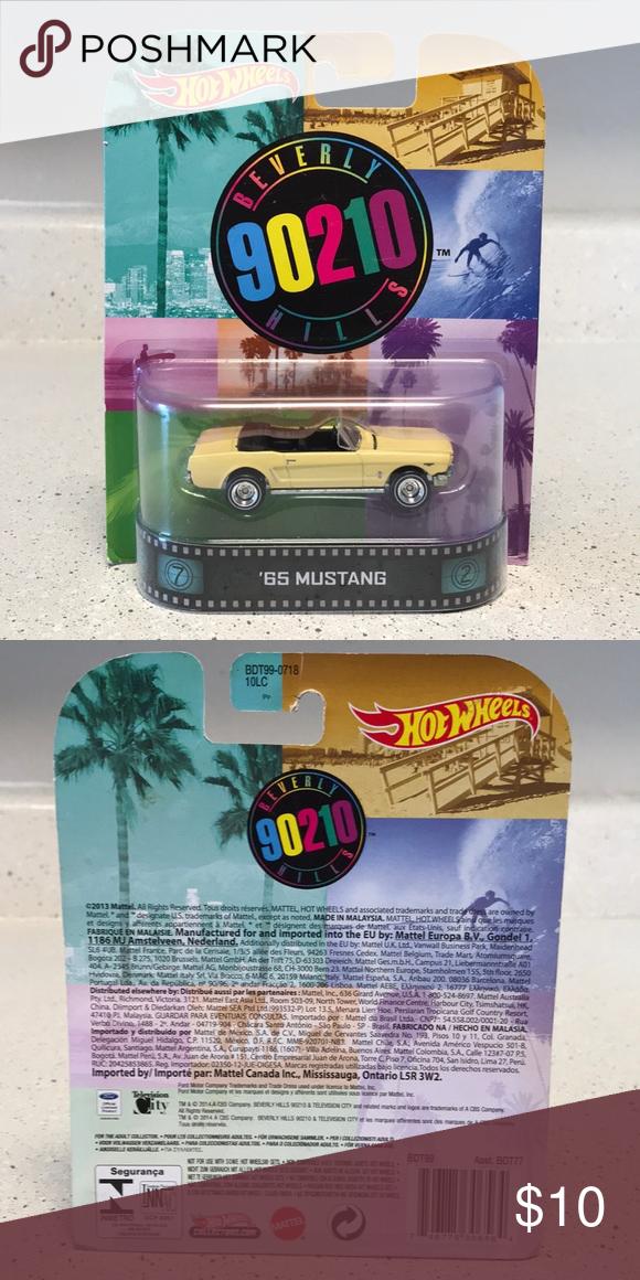65 Mustang/ Beverly Hills 90210 Hot Wheels '65 Mustang