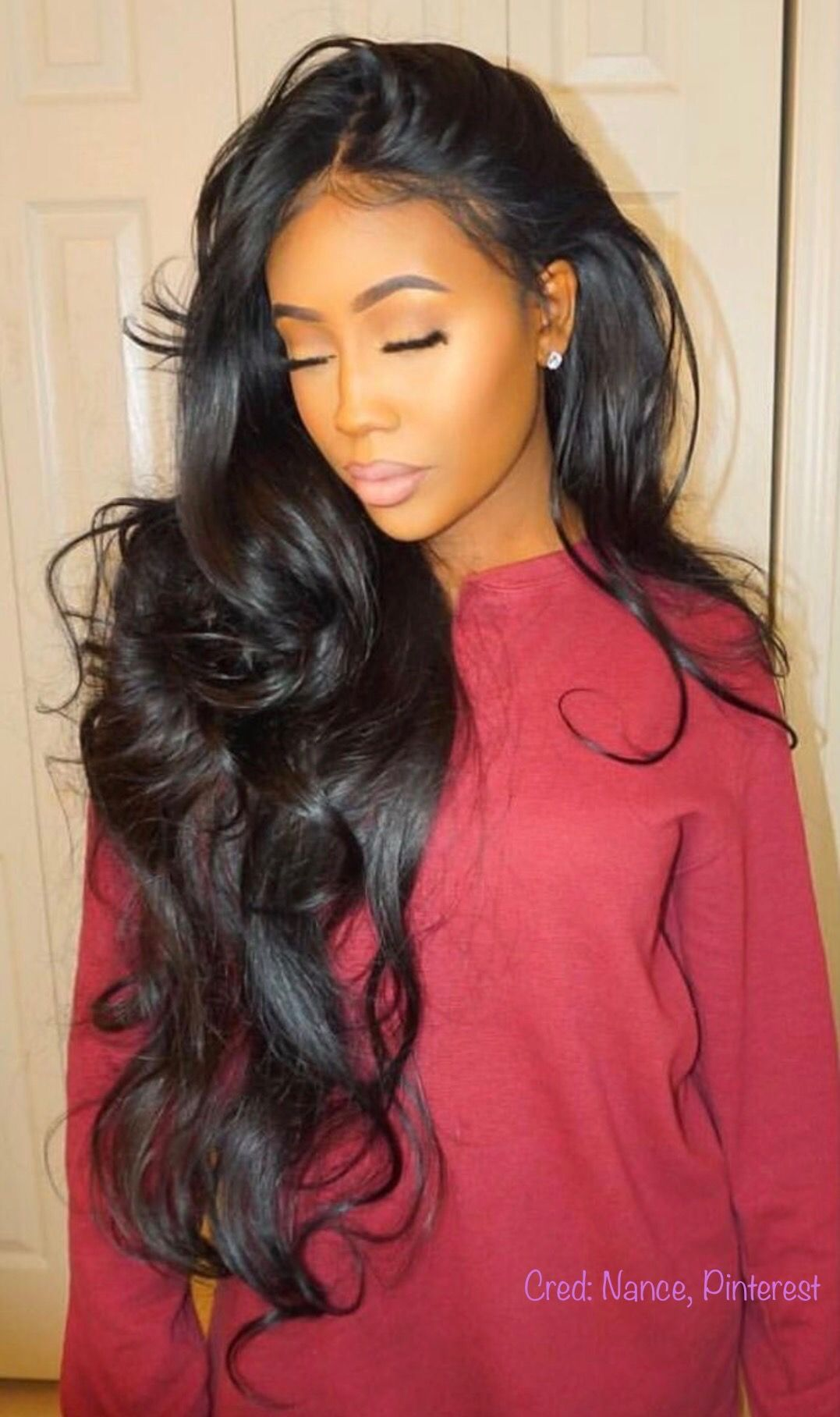 Pin by aaliyah on formal pinterest hair goals hair style
