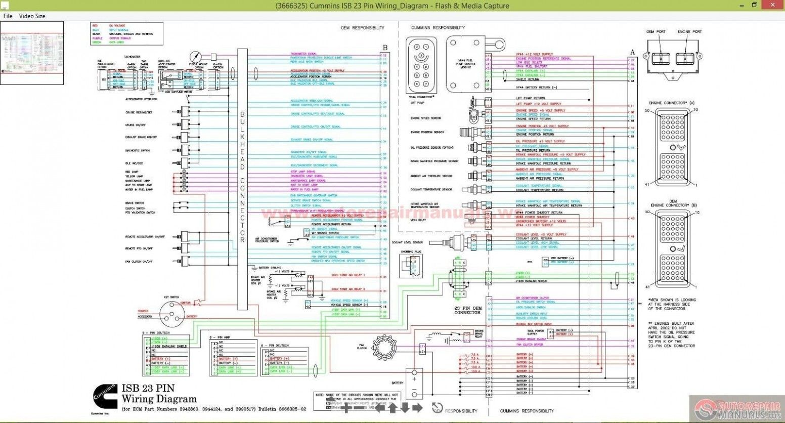 5e5 Cummins Isx Ecm Wiring Diagram Wiring Resources Cummins Isx Engine Wiring Diagram In 2020 Cummins Diagram Electrical Wiring Diagram
