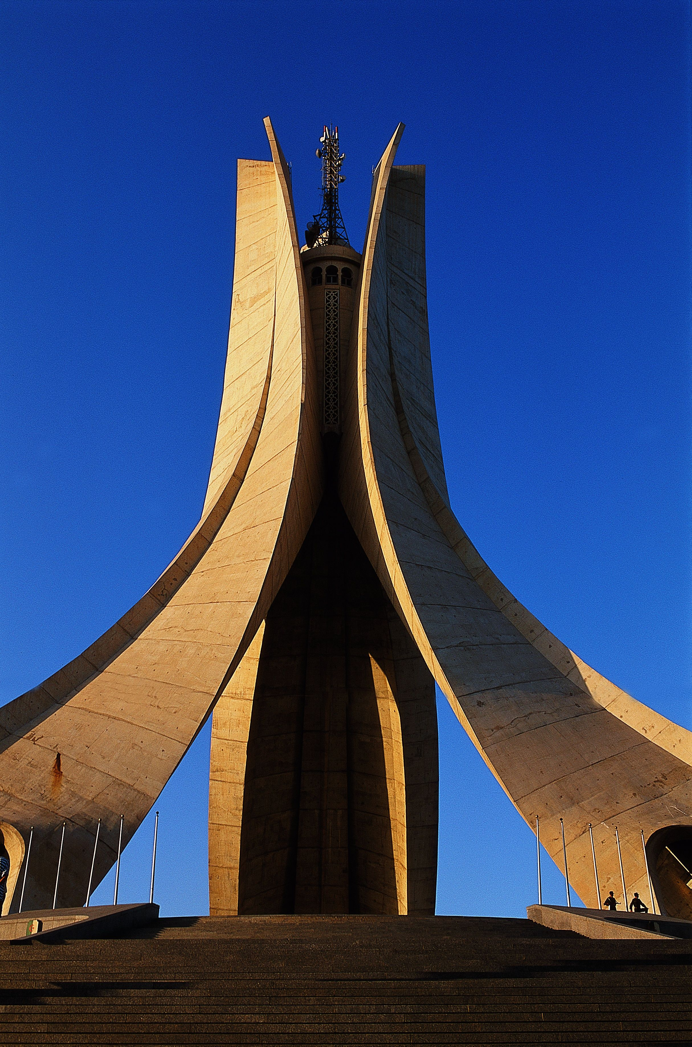 The Maqam Echahid An Iconic Concrete Monument Commemorating The