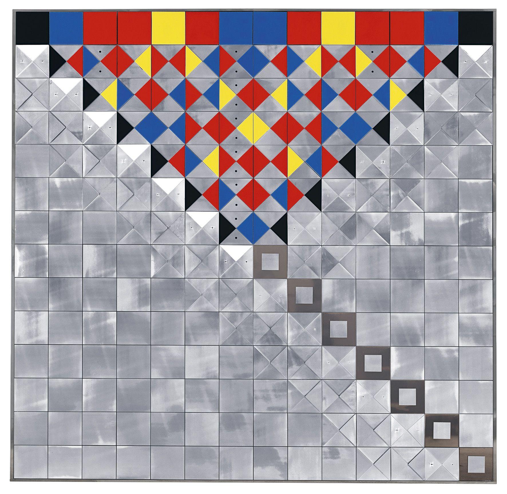 Heinz Mack Geb 1931 Relief Mit Farbigem Plexiglas 1971 Aluminium Farbiges Und Farbloses Plexiglas Nagel Auf Auktion Zeitgenossische Kunst Moderne Kunst