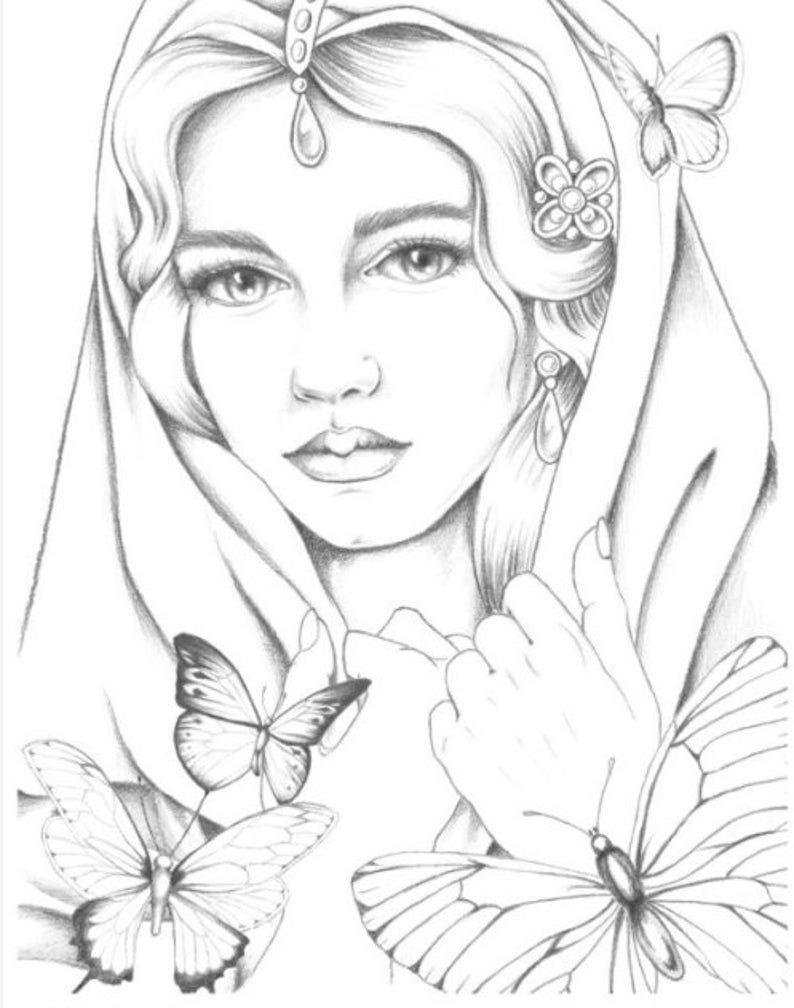 Nieuw Queens Of Poland En Gesigneerd Na Kaart Door Krystyna Etsy Dieren Kleurplaten Kleurpotloodtekeningen Cartoontekening