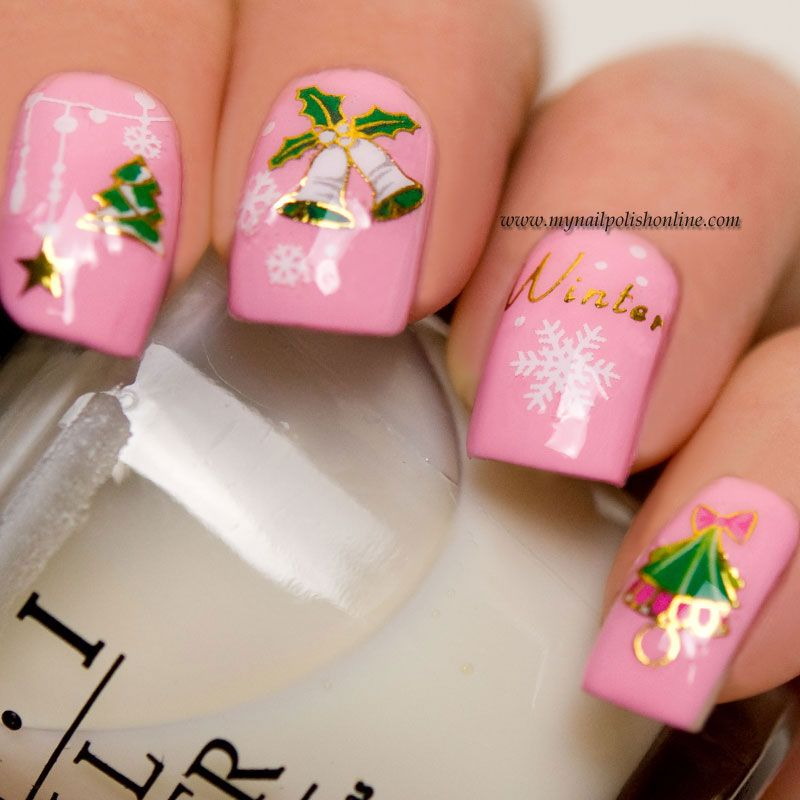 Nail Art With Water Decals Pinterest