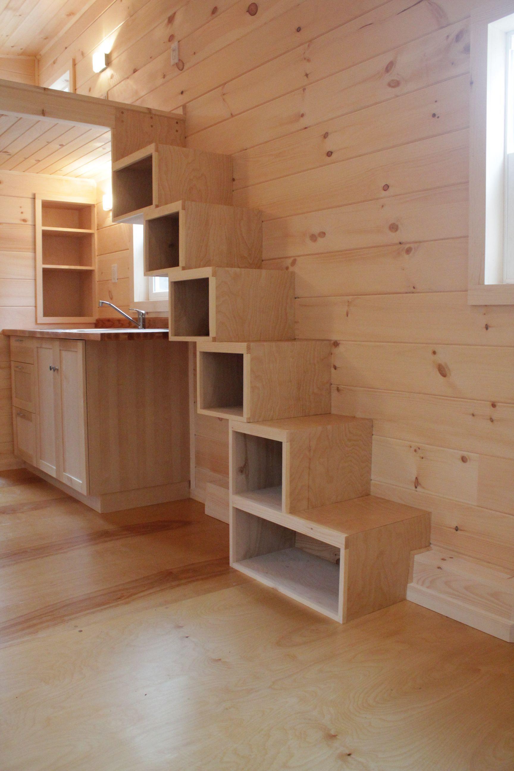 Sherwood Tiny House Интерьеры для крошечных домов