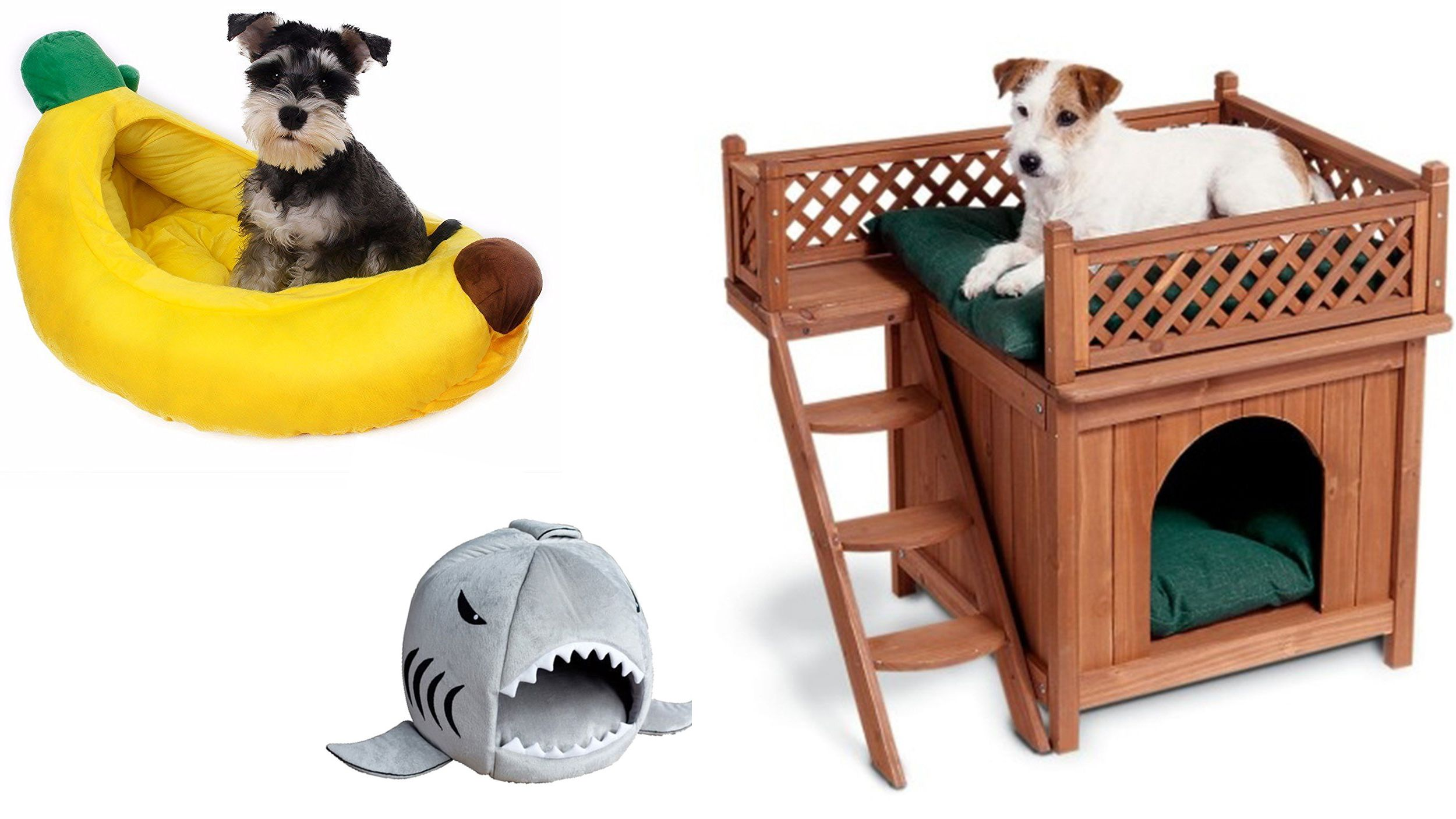 Tails will wag for these unique dog beds Unique dog beds