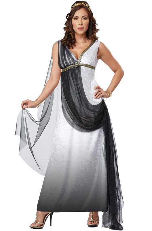 Toga Deluxe Roman Empress Adult Costume | Things to Wear | Pinterest