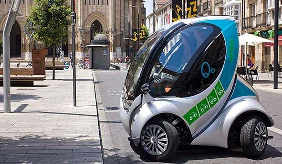Hiriko Folding Car Ready For Sale Next Year In 2020 Smart Auto Autos Elektrofahrzeug
