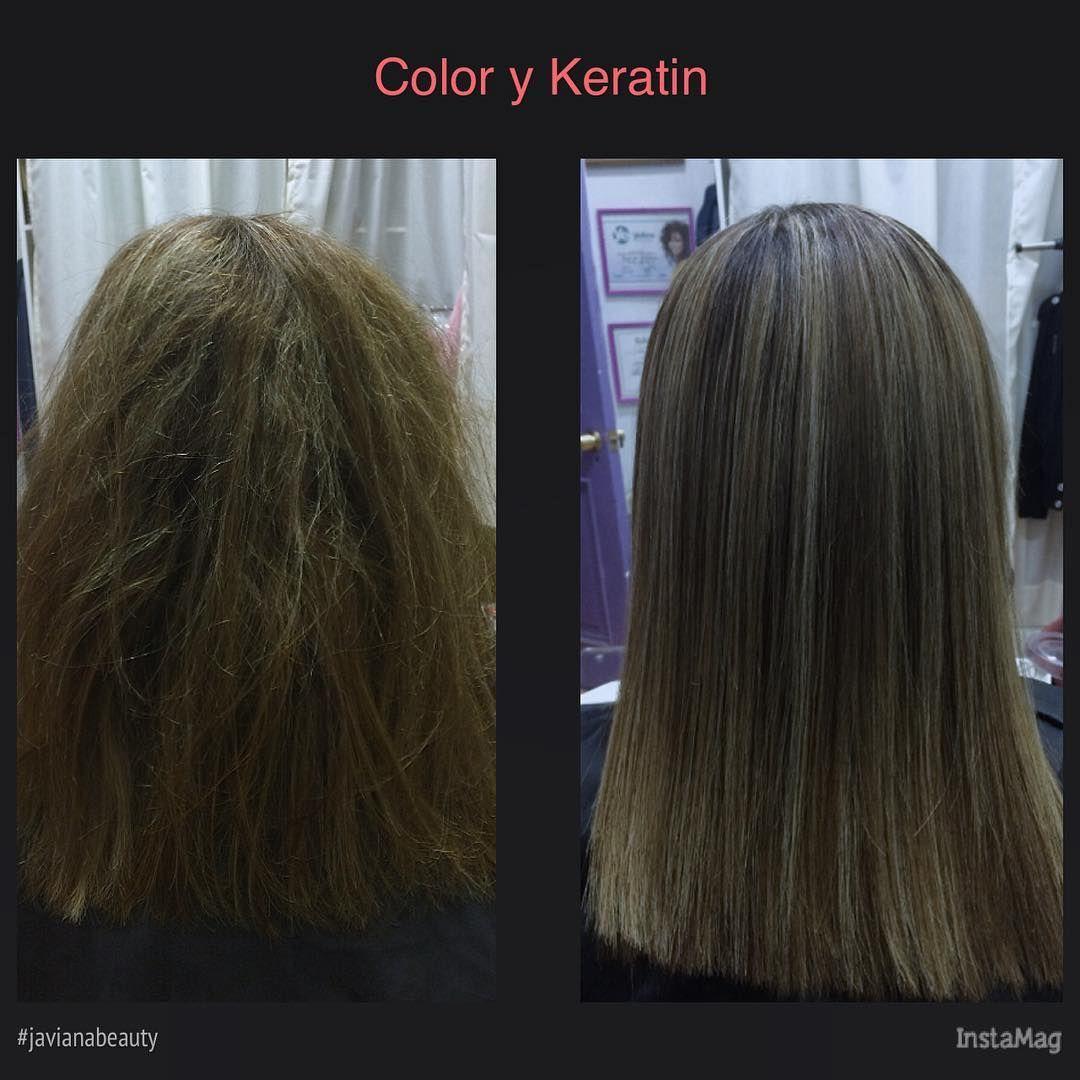Bano De Color Y Alisado Keratina Hairstyle Hairinspiration
