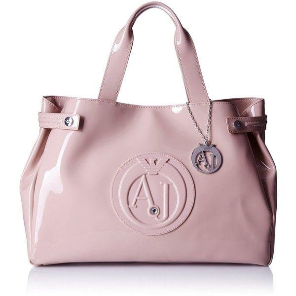Armani Jeans Eco Patent East West Tote Shoulder Bag ad98c7f2449cb