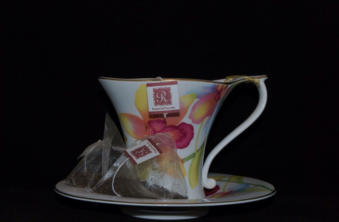 #tea by Russian Tea Time in a #orchid cup