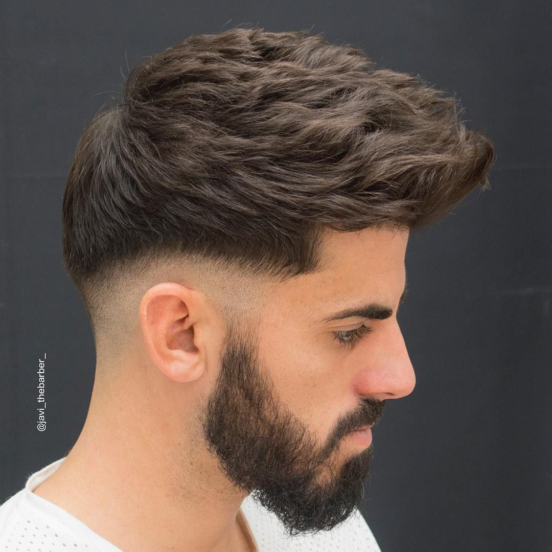17 Cool Thick Hair Hairstyles + Haircuts For Men 2018 | Low ...