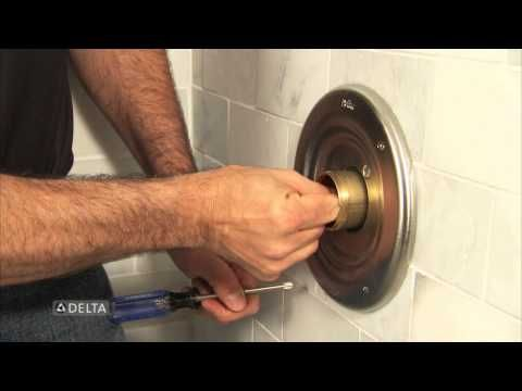 How To Replace A Delta Tub Or Shower Cartridge Youtube Shower