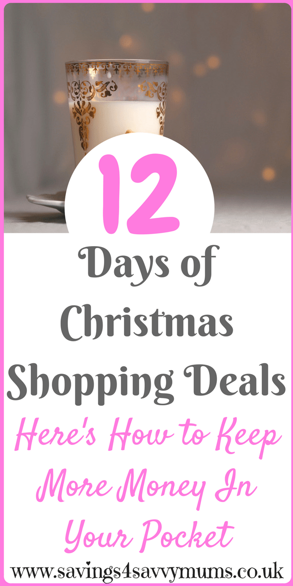 12 Days of Christmas Shopping Deals