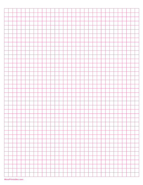 Free Printable 1 4 Inch Graph Paper Template For Letter Sized Paper Download It From Https Museprintables Com Graph Paper Printable Graph Paper Letter Paper