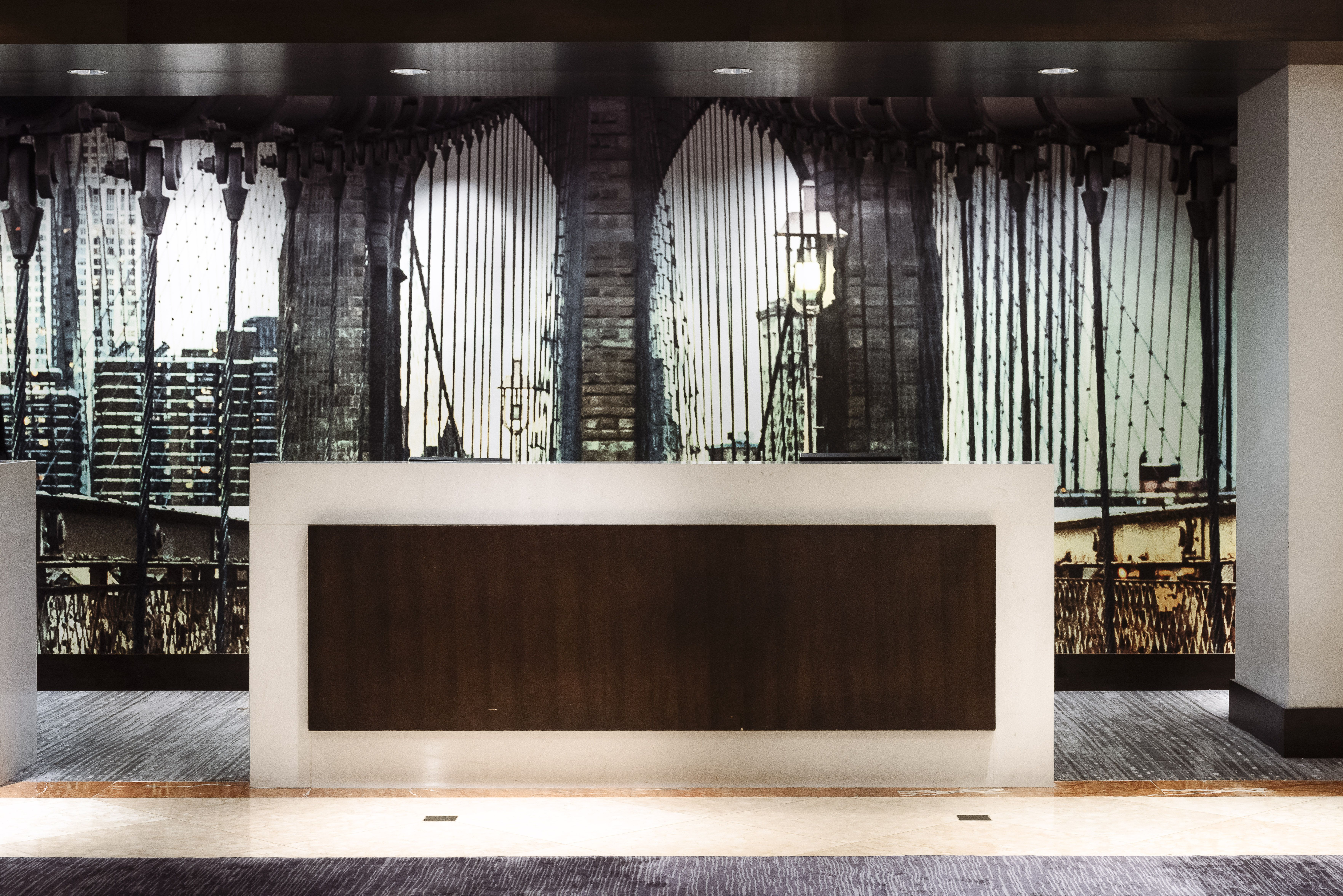 Marriott Brooklyn Bridge Designed By New York Based Boutique Interior  Design Firm, Krause Sawyer