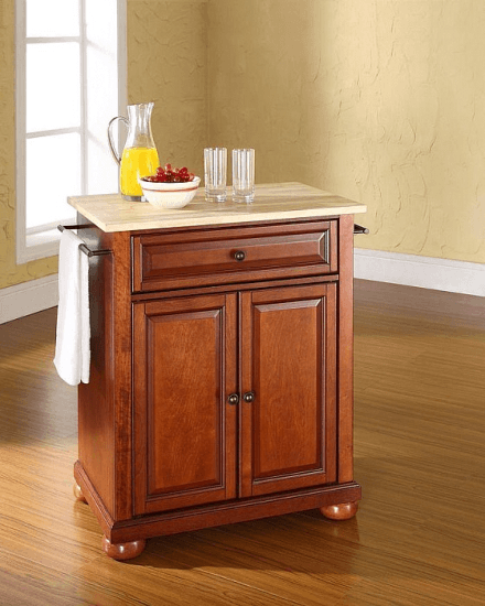 cherry kitchen cart country dining tables pottstown base in classic islands by darby home co ideas for carts 2018 need a furniture makeover