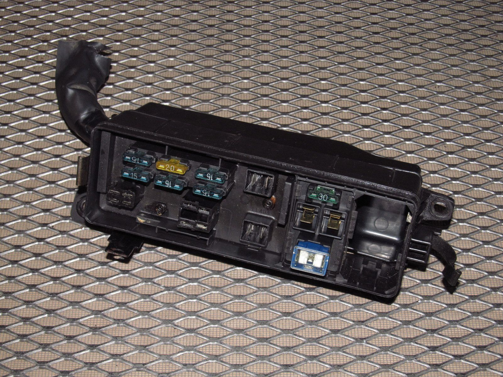 hight resolution of 89 90 91 92 toyota supra oem engine fuse box turbo products toyota celica fuse box
