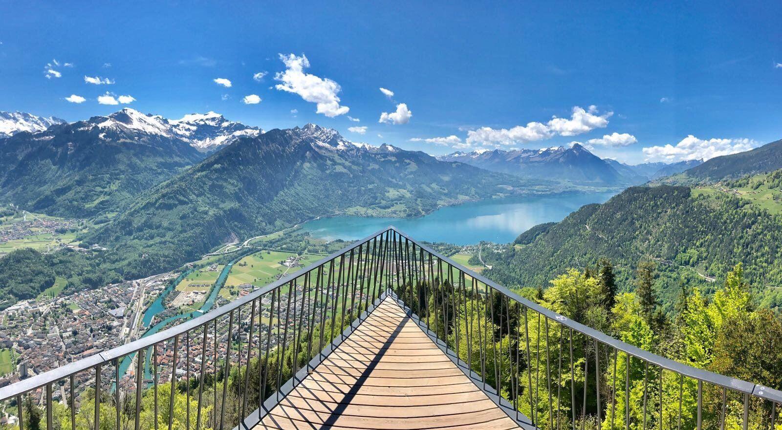 5 انشطة سياحية يمكن القيام بها في مطل هاردير كولم في انترلاكن سويسرا