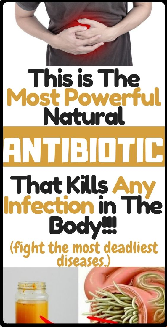 This Is The Most Powerful Natural Antibiotic Ever! #naturalcures