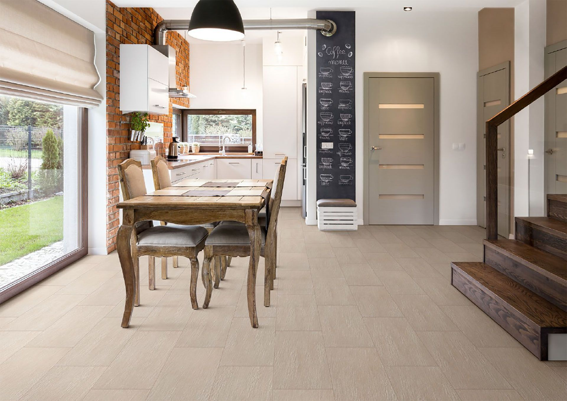 Iris Ceramic Group Porcelain Covers Surfaces In The Home, Combining