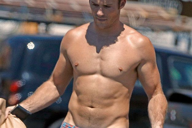 Scott Eastwood. Hope you can handle this curve.