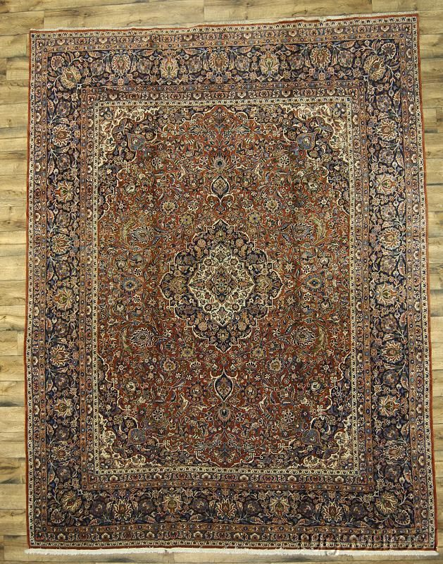 Palace Sized Traditional Antique 11x14 Kashan Persian Oriental Area Rug Carpet Antique Persian Carpet Rugs Carpet Handmade