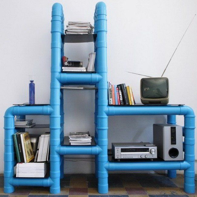 Small PVC Pipe Shelves | PVC Pipe Creations - Make Cool Stuff Out Of PVC  Pipes