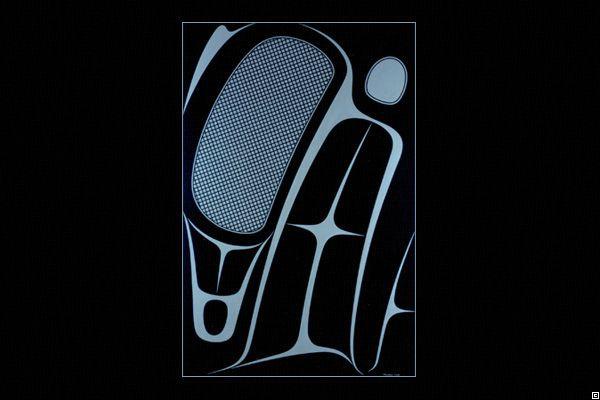 Robert Davidson|blackfish 2006 Works of Art|Original Paintings
