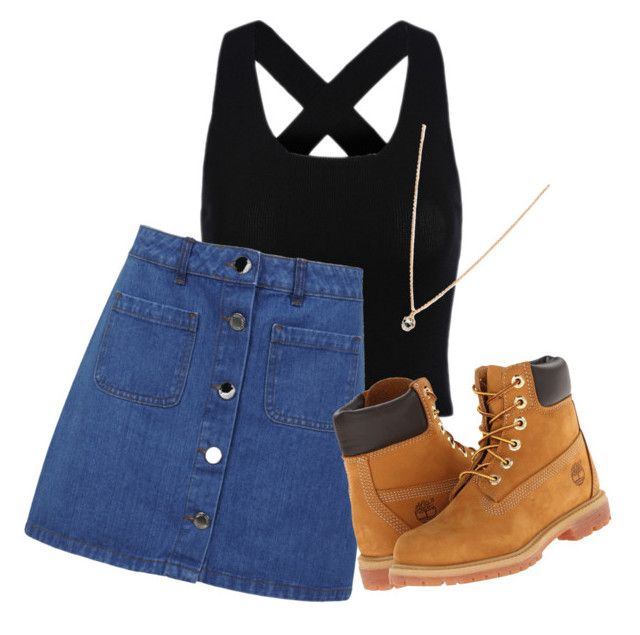 """""""Untitled #168"""" by teenwolf-tacos-1d ❤ liked on Polyvore featuring Miss Selfridge, Timberland and Forever 21"""