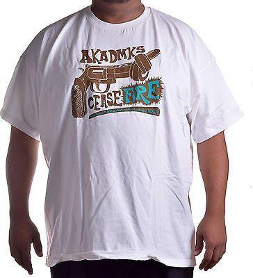 Akademiks Men's Big & Tall James Brown Crew Neck Tee Shirt