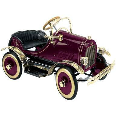 pedal car burgundy limited edition model t roadster pedal car