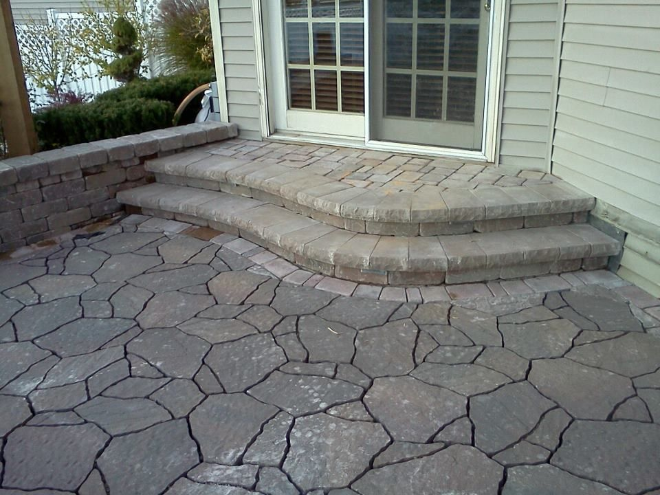 Using Belgard Mega Arbel Paver For The Patio