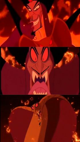Jafar 39 s serpent transformation epic disney villains - Serpent aladin ...