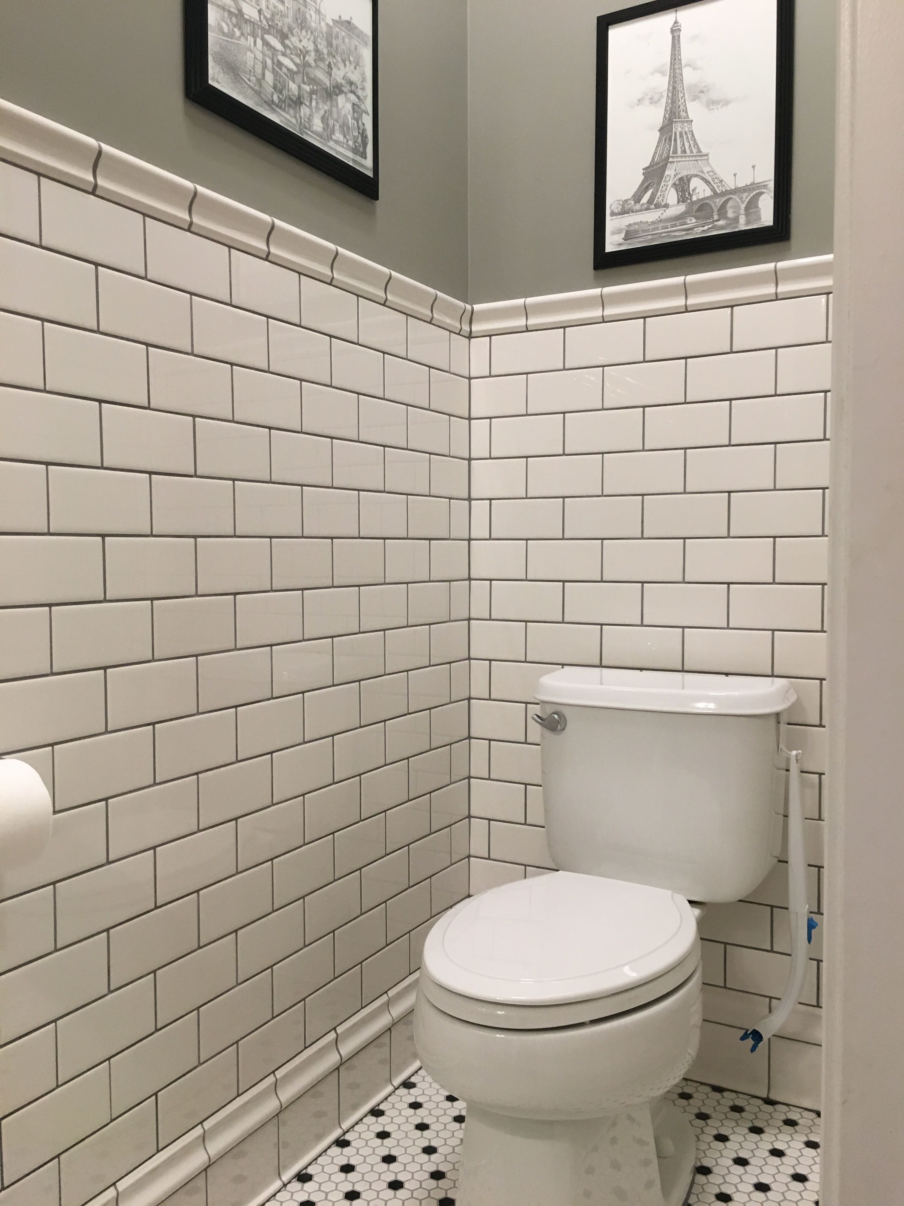 My 1 2 Bath Remodel Subway Tile Bath Remodel Top Bathroom Design Bathrooms Remodel