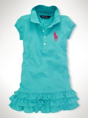 Polo RALPH LAUREN Girls Dress Polo Dress 1 Dress